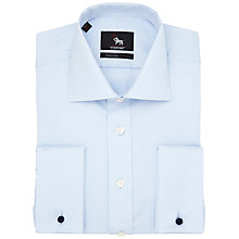 Buy Chester by Chester Barrie Non-Iron Oxford Double Cuff Shirt Online at johnlewis.com