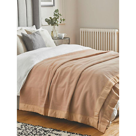Buy John Lewis Empress Wool Blanket Online at johnlewis.com