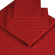 Buy John Lewis Fine Egyptian Cotton Centre Pleat Valances Online at johnlewis.com