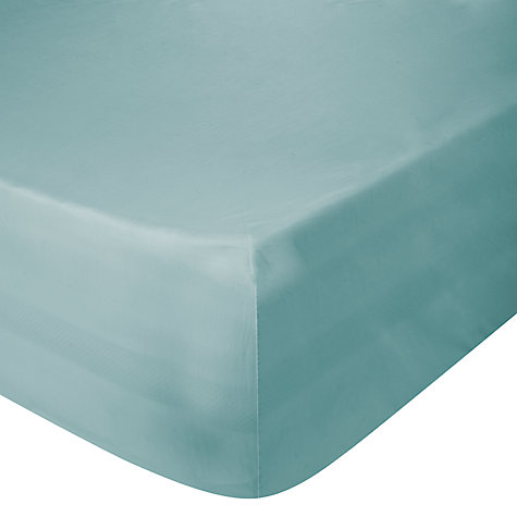 Buy John Lewis Easycare Polycotton Centre Pleat Valance Sheets, White Online at johnlewis.com