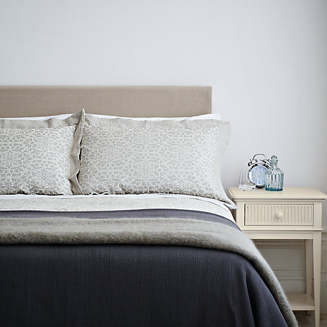 Buy John Lewis Fairtrade Organic Cotton Pillowcases, White Online at johnlewis.com