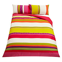 Buy John Lewis Azuki Bedding, Pink Online at johnlewis.com