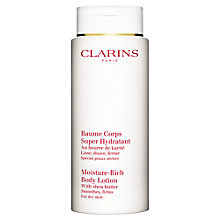 Buy Clarins Moisture-Rich Body Lotion, 400ml Online at johnlewis.com