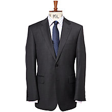 Buy Chester by Chester Barrie Pick and Pick Wool Suit Jacket, Charcoal Online at johnlewis.com