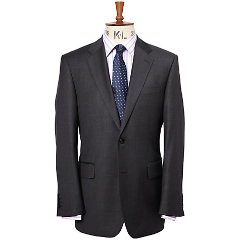 Buy Chester by Chester Barrie Pick and Pick Wool Suit Jacket Regular Fit, Charcoal Online at johnlewis.com