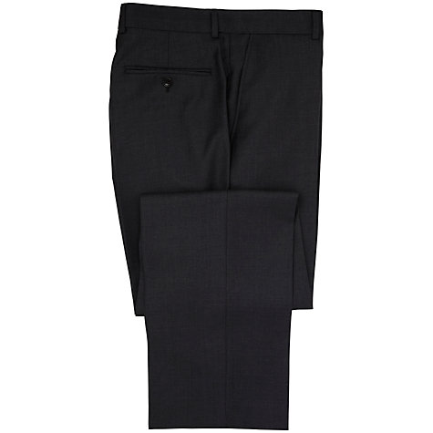 Buy Chester by Chester Barrie Pick and Pick Wool Suit Trousers, Charcoal Online at johnlewis.com