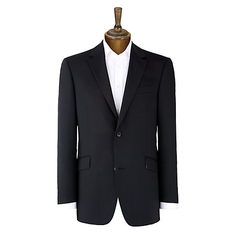 Buy Daniel Hechter Plain Organic Wool Jacket, Navy Online at johnlewis.com