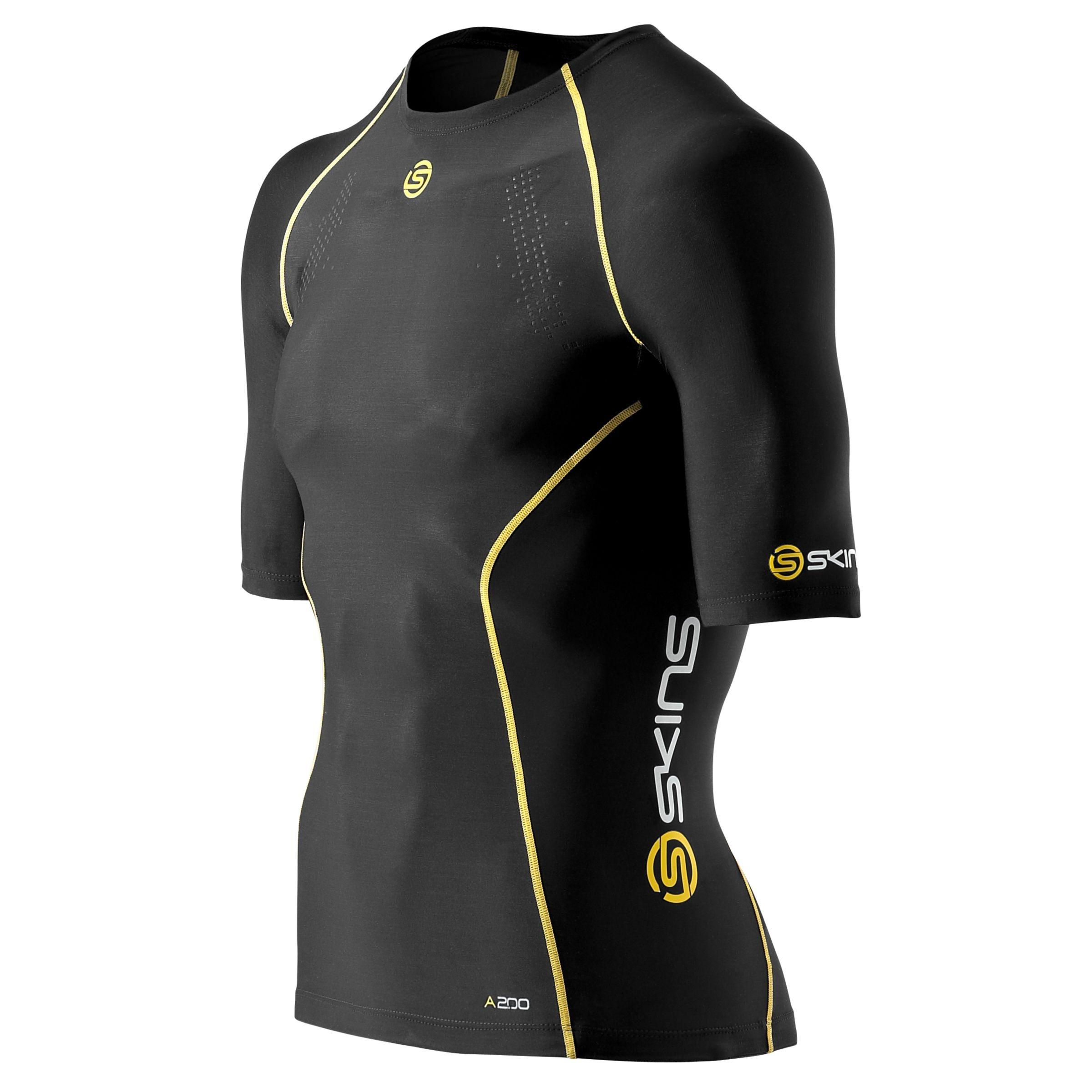 Skins Skins Men's A200 Compression Short Sleeve Top