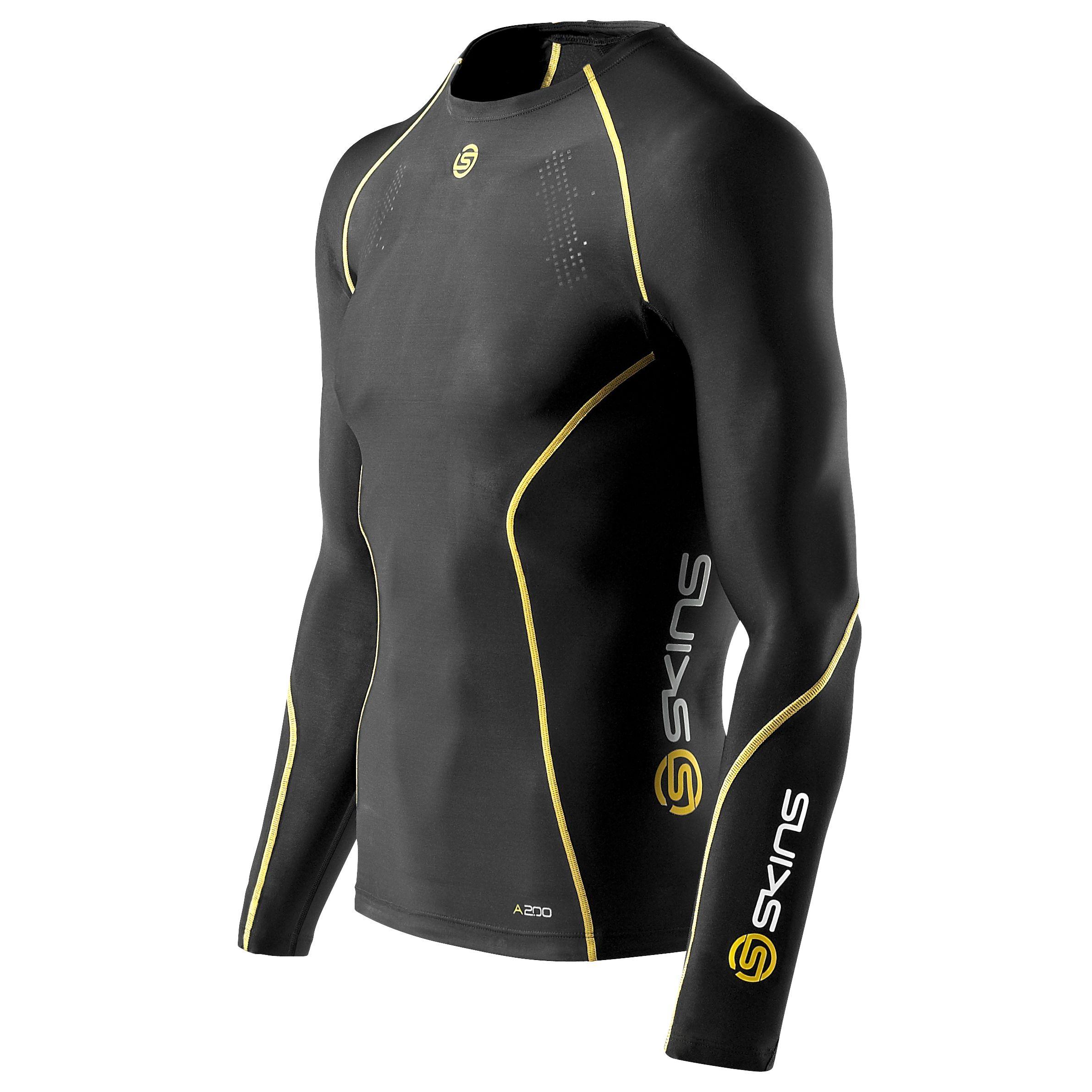 Skins Skins Men's A200 Compression Long Sleeve Top