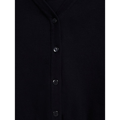Buy John Lewis V-Neck Cardigan, Navy Online at johnlewis.com