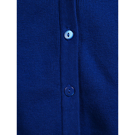 Buy John Lewis V-Neck Cardigan, Royal Blue Online at johnlewis.com