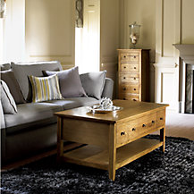 John Lewis Grove Living Room Furniture, Light Oak