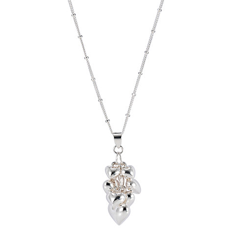 Buy Martick Multi-Heart Pendant Necklace Online at johnlewis.com