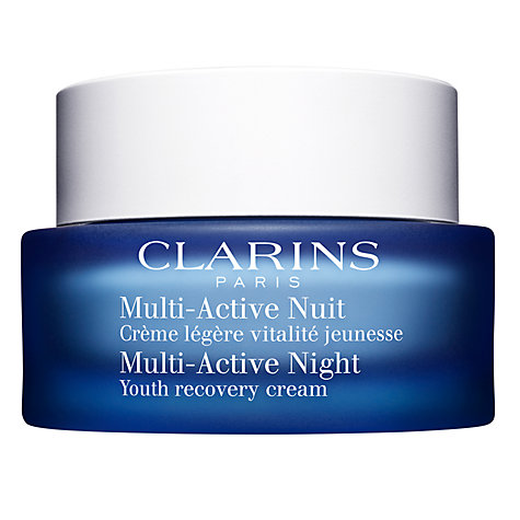 Buy Clarins Multi-Active Night Youth Recovery Cream Online at johnlewis.com