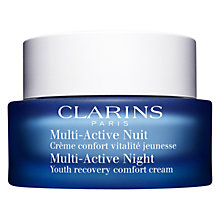 Buy Clarins Multi-Active Night Youth Recovery Comfort Cream Online at johnlewis.com