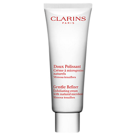 Buy Clarins Gentle Refiner Exfoliating Cream With Microbeads, 50ml Online at johnlewis.com