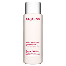 Buy Clarins Gentle Exfoliator Brightening Toner, 125ml Online at johnlewis.com