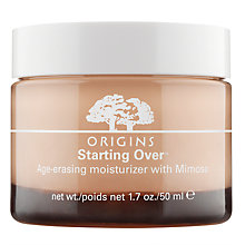Buy Origins Starting Over™ Age-Erasing Moisturiser With Mimosa, 50ml Online at johnlewis.com