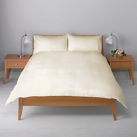 Buy John Lewis Wide Stripe Duvet Cover and Pillowcase Set Online at johnlewis.com