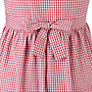 Buy John Lewis Check Print Cotton Summer Dress, Red Online at johnlewis.com