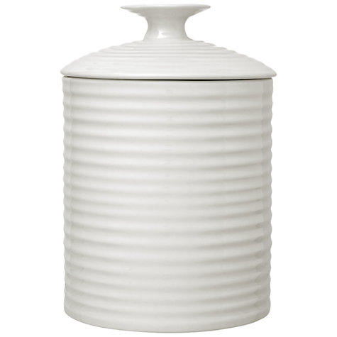 Buy Sophie Conran for Portmeirion Storage Jars, White Online at johnlewis.com