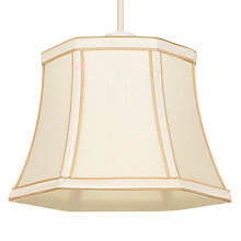 Buy John Lewis Carrie Silk Shades, Ivory Online at johnlewis.com