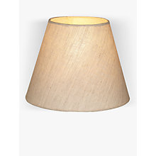 Buy John Lewis Samantha Drum Shades, Natural Linen Online at johnlewis.com