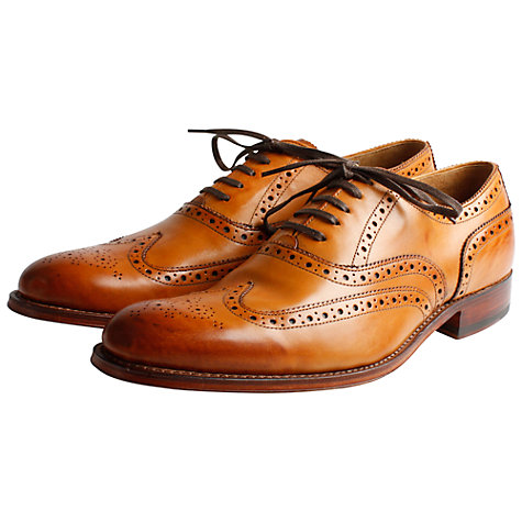 Buy Grenson Dylan Leather Brogue Goodyear Welt Shoes Online at johnlewis.com