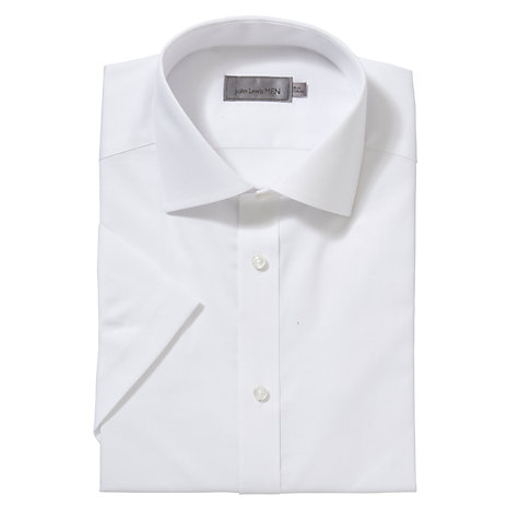 Buy John Lewis Non-Iron Short Sleeve Shirt Online at johnlewis.com