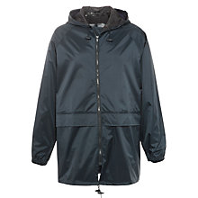 Buy John Lewis Rain Jacket, Navy Online at johnlewis.com