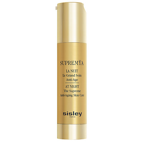 Buy Sisley Supremÿa Anti-Aging Night Cream, 50ml Online at johnlewis.com