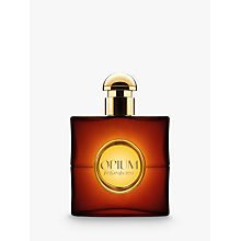 Buy Yves Saint Laurent Opium Eau de Toilette, 90ml with Luxury Beauty Crackers Online at johnlewis.com