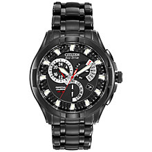 Buy Citizen Eco-Drive BL8097-52E Men's Calibre 8700 Bracelet Watch Online at johnlewis.com