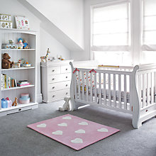 Buy Boori Nursery Furniture Range, Soft White Online at johnlewis.com