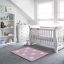 Boori Nursery Furniture Range, Soft White