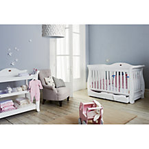 Boori Nursery Furniture Range, White