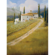 Buy Carolyne Hawley - Tuscan Vineyard Online at johnlewis.com