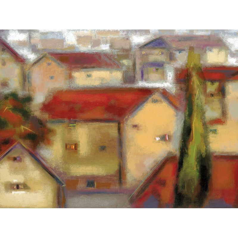 Eric Balint - Village View, Frameless 98844