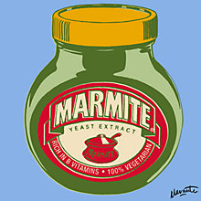Buy Marmite On Blue Online at johnlewis.com