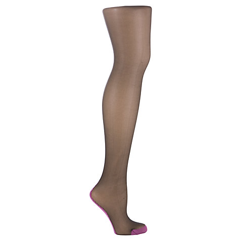 Buy Jonathan Aston Contrast Seam & Heel Tights Online at johnlewis.com