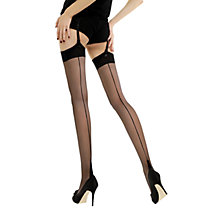 Buy Jonathan Aston Lycra Seam & Heel Stockings Online at johnlewis.com