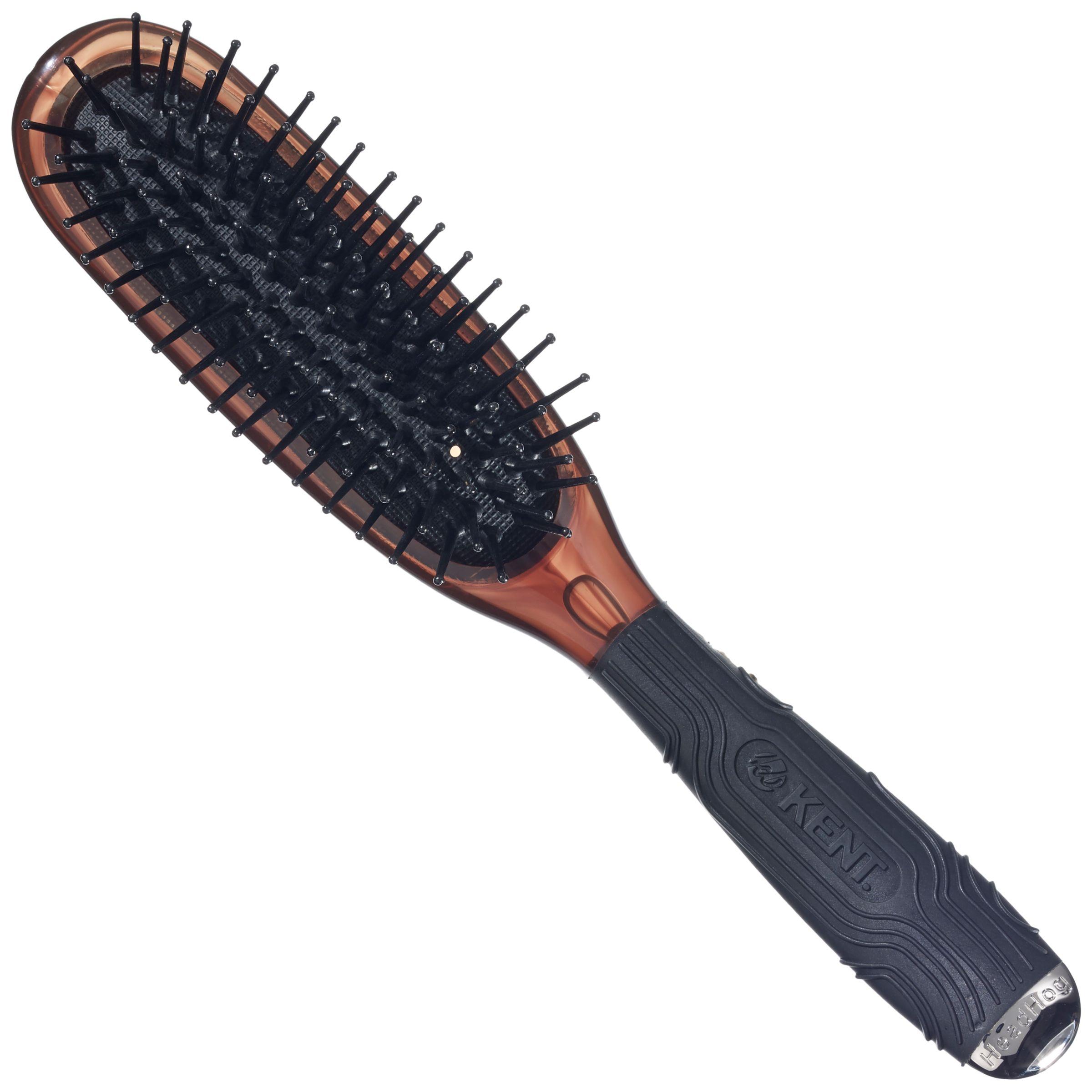 Kent Kent Headhog Cushioned Nylon Tipped Hairbrush