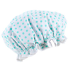 Buy John Lewis Spotty Shower Cap Online at johnlewis.com