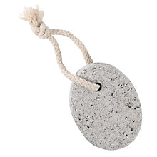Buy John Lewis Natural Pumice Stone on a Rope Online at johnlewis.com
