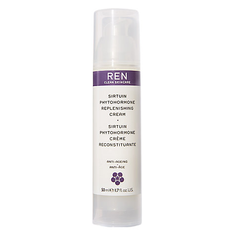 Buy REN Sirtuin Phytohormone Replenishing Cream 50ml Online at johnlewis.com