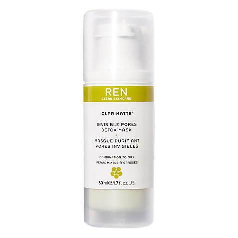 Buy REN Multi-Mineral Pore Minimising Detox Mask 50ml Online at johnlewis.com
