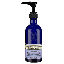Buy Neal's Yard Rejuvanating Frankincense Face wash 100ml Online at johnlewis.com