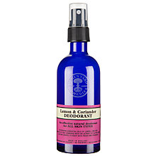 Buy Neal's Yard Lemon & Coriander Deodorant, 100ml Online at johnlewis.com