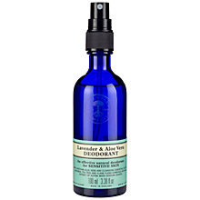 Buy Neal's Yard Lavender and Aloe Vera Deodorant 100ml Online at johnlewis.com