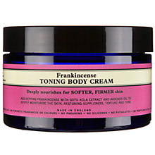 Buy Neal's Yard Frankincense Toning Body Cream, 150g Online at johnlewis.com